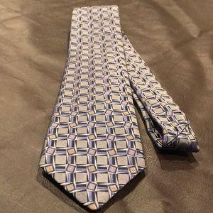 Robert Talbott Carmel handsewn silk tie USA 002